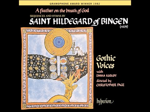 Saint Hildegard of Bingen—A feather on the breath of God—Emm