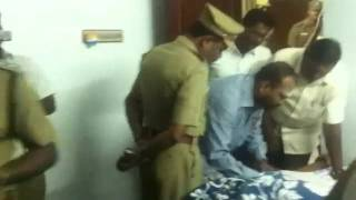 J.Anbazhagan M.L.A midnight arrest by TN Police in a brutality manner