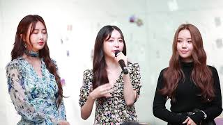 191005 Dal.Shabet 달샤벳 Ayoung 아영 Talk @ Reunion mini concert …