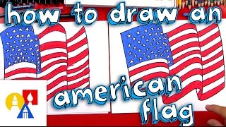 Video How To Draw The American Flag download MP3, 3GP, MP4, WEBM, AVI, FLV Juli 2018