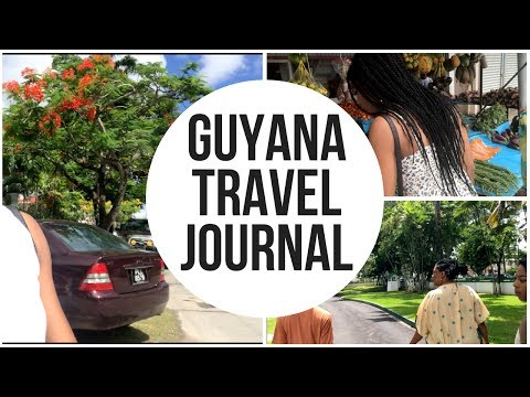 Guyana Travel Journal 1 | AshaTalia