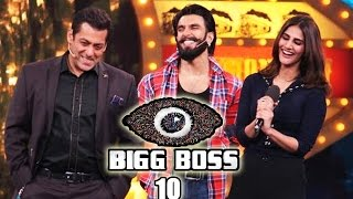 Repeat youtube video Ranveer Singh & Vaani Kapoor's GRAND ENTRY In Salman's Bigg Boss House