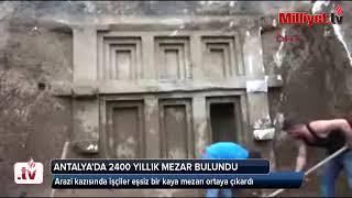 2400 yıllık kaya mezarı