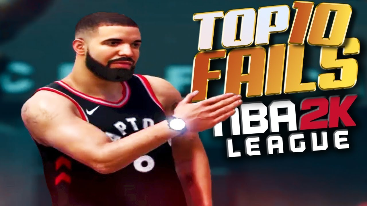 TOP 10 FAILS You WON'T SEE In The 2K League - NBA 2K18 Highlights