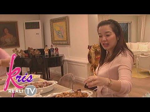 kris tv kris shows off her house in kris tv youtube