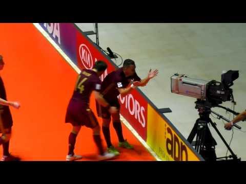 Россия - Испания, 1/4 финала Чемпионата Мира по мини-футболу в Колумбии 2016