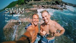 swimming from playa maderas to san juan del sur nicaragua