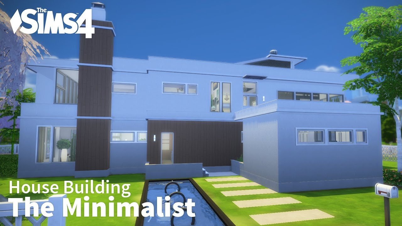 The Minimalist The Sims 4 House Building Youtube