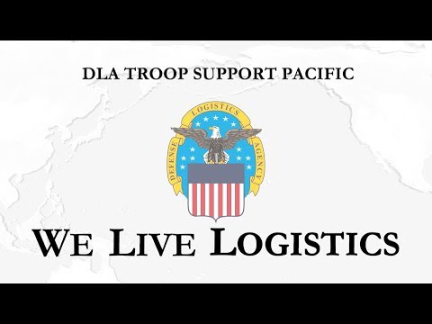 DLA Troop Support Pacific We Live Logistics (Open Caption)
