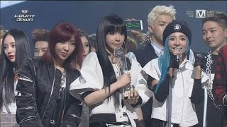 no1 encore 140327 2ne1 come back home mcountdown
