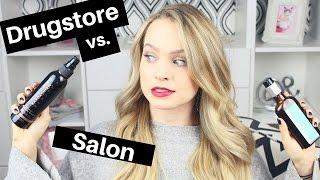 Drugstore Vs Salon Hair Product Dupes