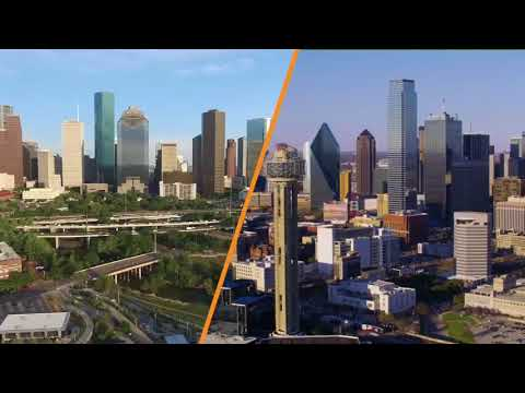 Exactly where will the Texas Bullet Train's route go?