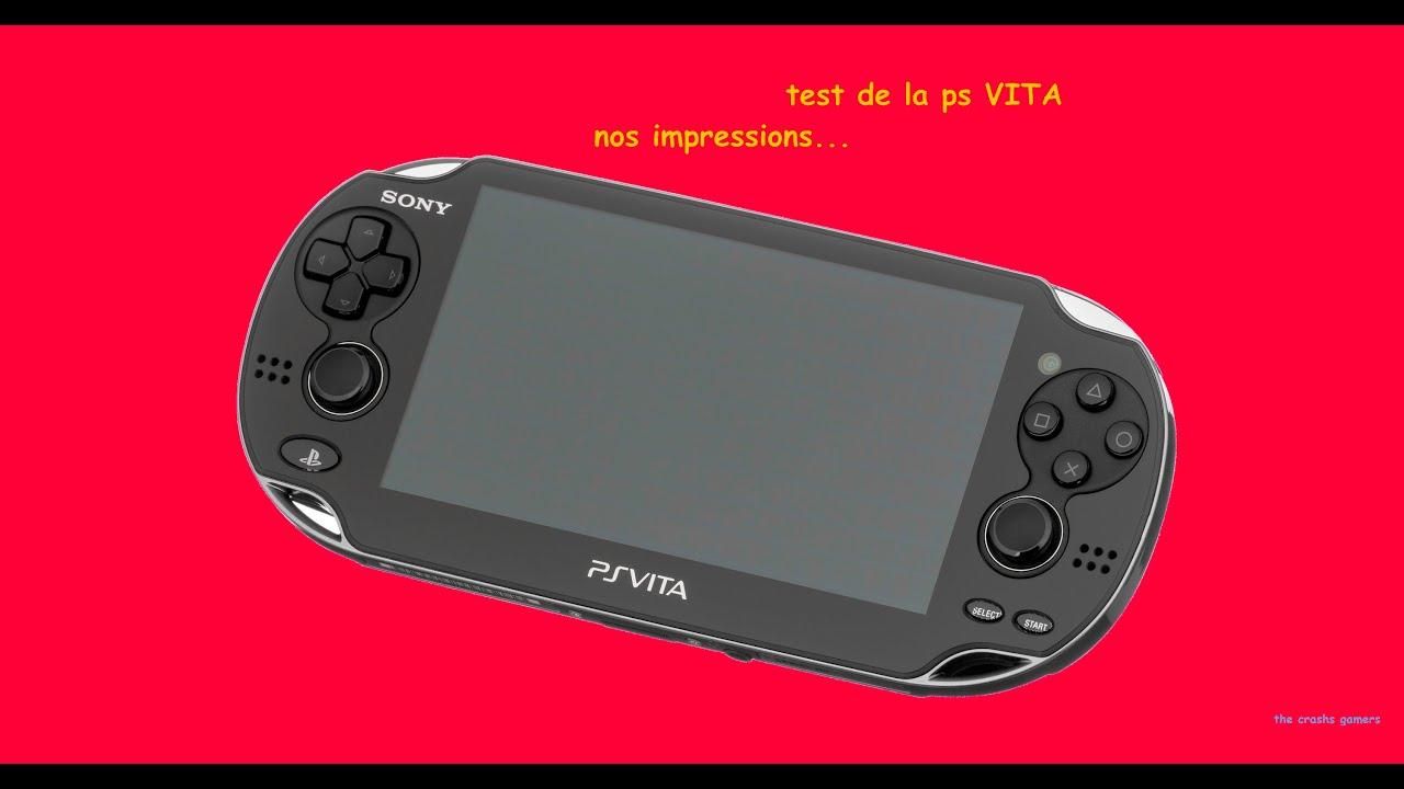 Test de la ps vita youtube - Ps vita test de la console ...