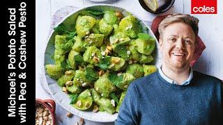 Potato Salad with Pea and Cashew Pesto by Michael Weldon