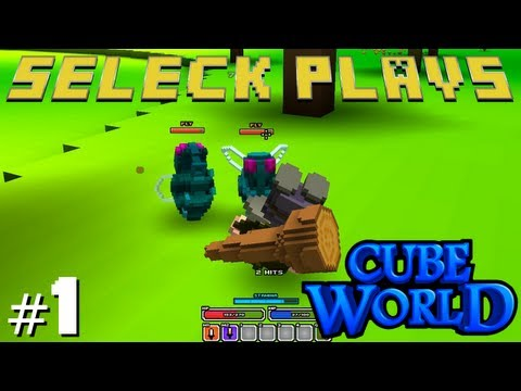 Cube World | Ep. 1 | It Takes TWO Hands to Swing My Club