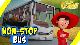 Chacha Bhatija In Hindi- EP14 | Non-Stop Bus | Funny Videos For Kids | Wow Kidz Comedy