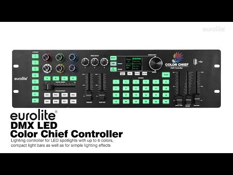 DMX LED Color Chief Controller - eurolite