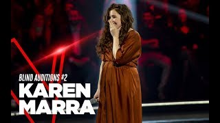 "Karen Marra ""There Must Be Love"" - Blind Auditions #2 - TVOI 2019"