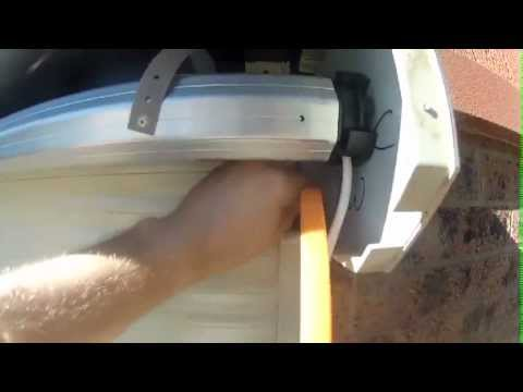 Shutter motor Installation - using FAAC T-Mode Motors - Retrofit manual shutter with tubular motor