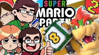 Lets Play Super Mario Party Nintendo Switch 4 Player Multiplayer Gameplay Whomps Domino Ruins Part 2