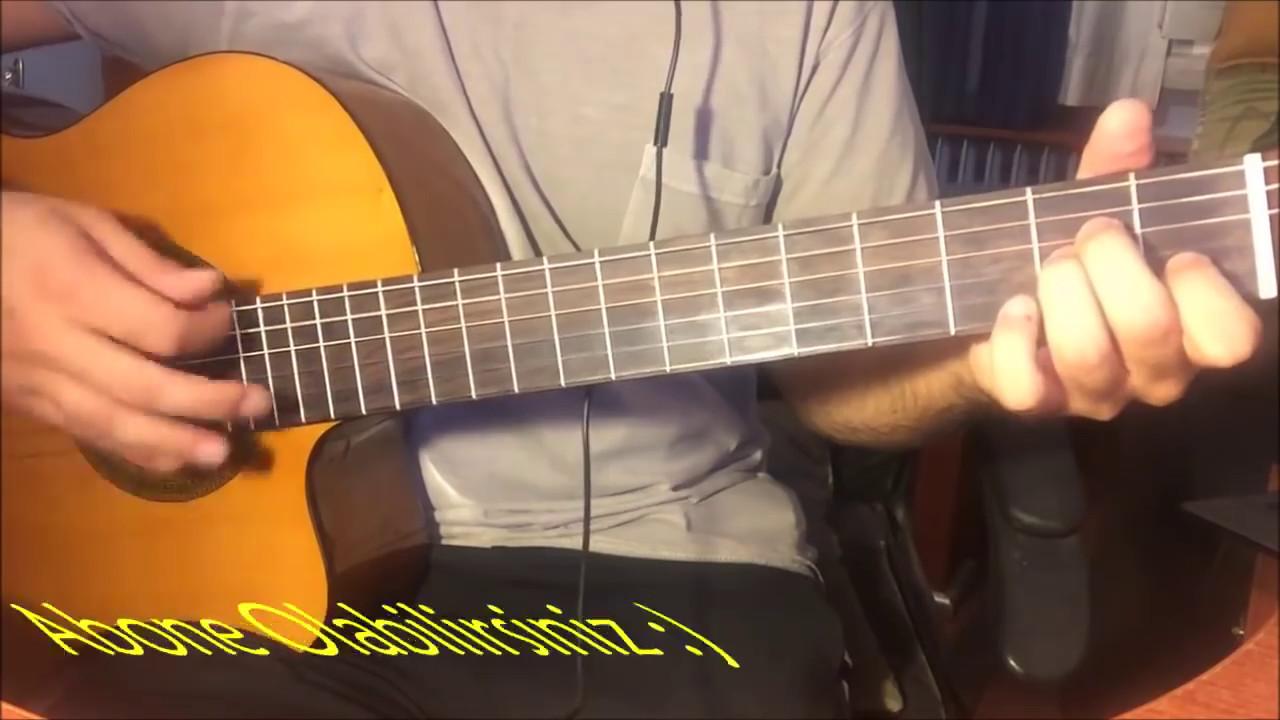 rafet el roman kursun cover solo ve akor