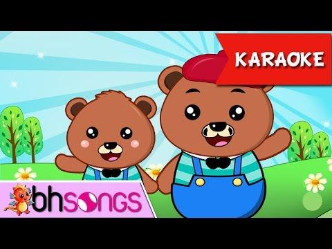 Teddy Bear Song | Nursery Rhymes TV [ Karaoke Music 4K ]