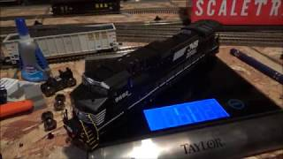 Review Of The ScaleTrains NS C44-9W In HO Scale W/ ESU Loksound V5