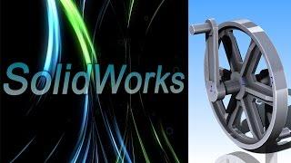 SolidWorks. Кривошип (Урок 5) / Уроки SolidWorks