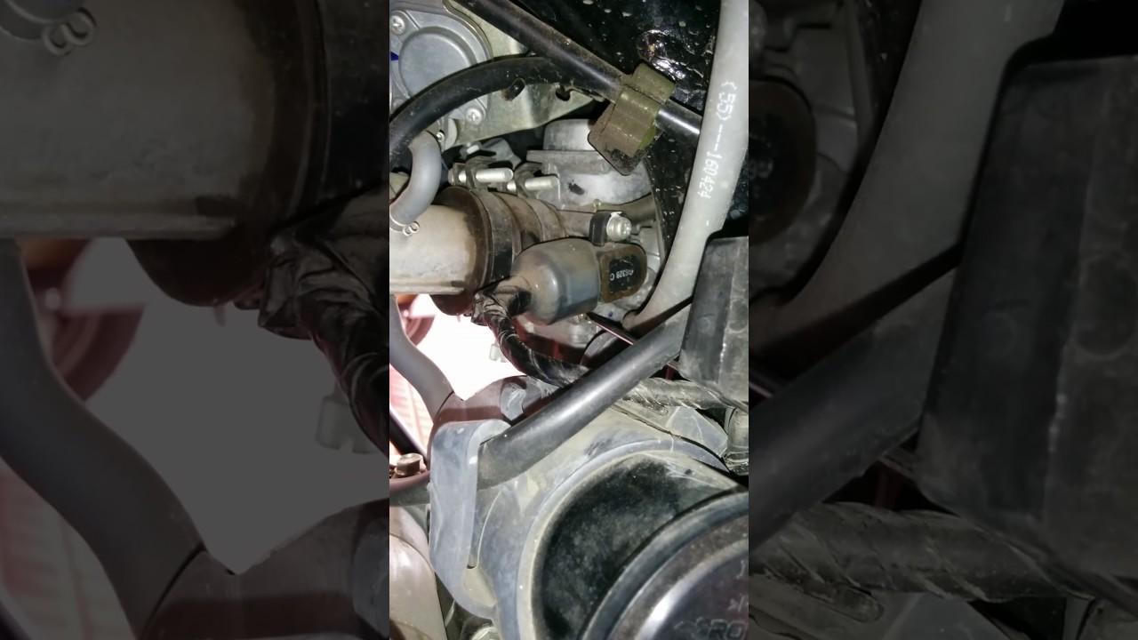 CB Hornet 160R - fuel screw adjustment by Sudharshan NC