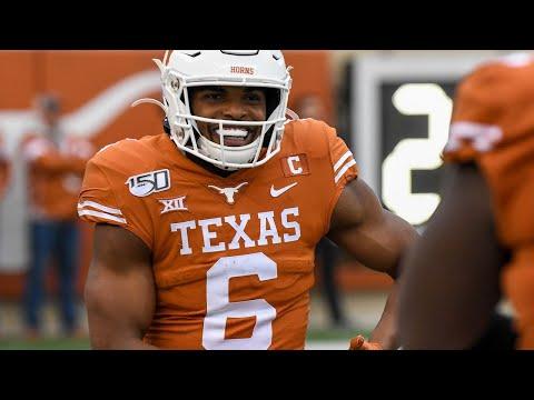 Texas Tech At Texas Football Highlights