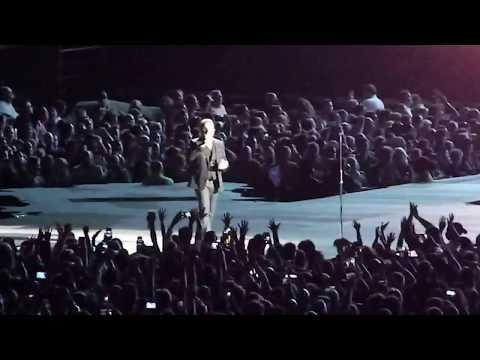 U2 performs Beautiful Day Tues 9-12-17 Arrowhead Stadium Kansas City MO