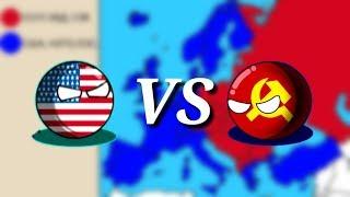 ЕСЛИ БЫ СССР НАПАЛ НА США И НАТО ВО ВРЕМЯ ХОЛОДНОЙ ВОЙНЫ | Lichtenstein Mapper