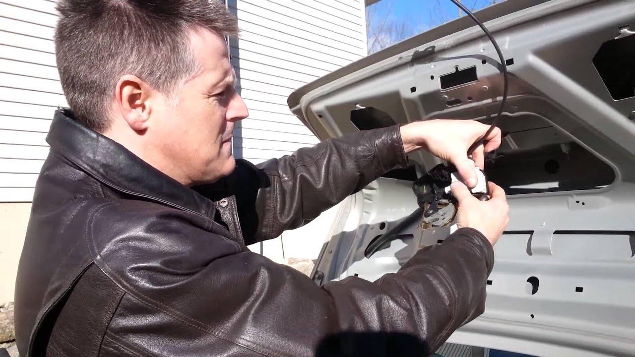 Trunk Latch Repair Volvo S80