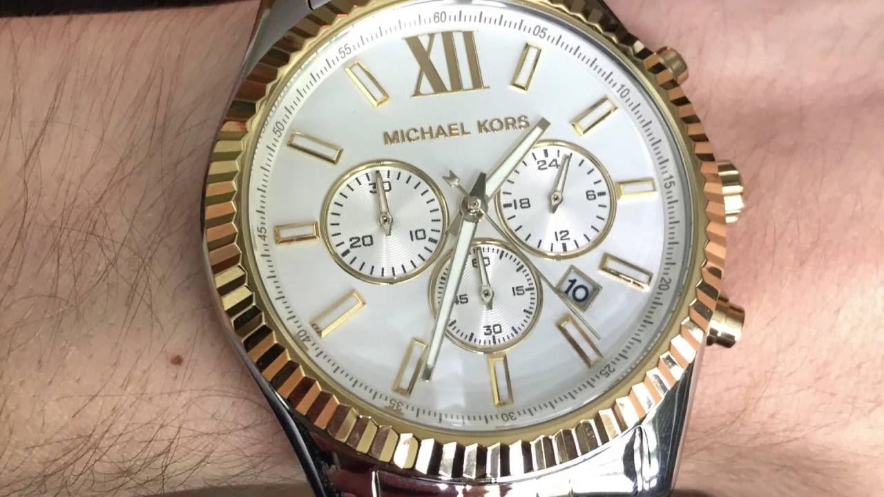 4b6edd0c8508 My Michael Kors MK8344 Lexington Watch - YouTube