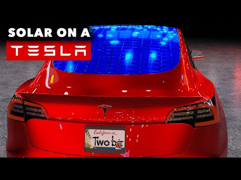 Solar Panels on Future Tesla Cars