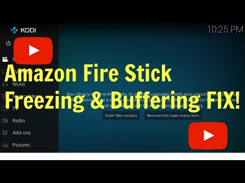 Amazon Fire Stick Slow Freezing And Buffering Fix