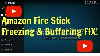 Amazon Fire Stick Slow Freezing And Buffering Fix