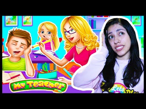 KIDS ARE SO MESSY! - MY TEACHER - Classroom Play - App Game