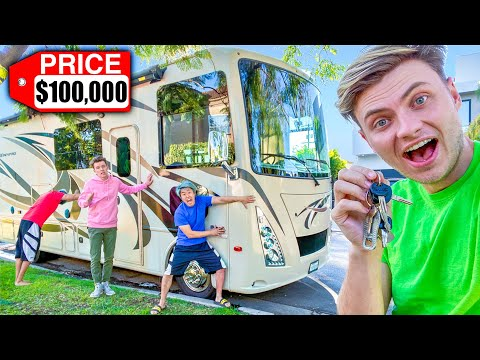 LAST TO LEAVE $100,000 RV KEEPS IT!!