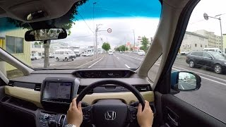 【Test Drive】 2016 New Honda Freed 4WD - POV City Drive