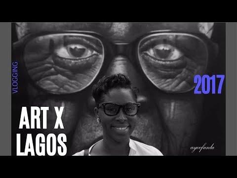 I HAVE BLOWN! || ART X LAGOS || LIFEASVKNOWSIT # 1 VLOG