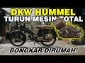 Mesin Ambrol ! DKW Hummel Ts 50cc 1961