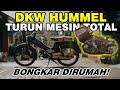 Bongkar Total Mesin DKW Hummel Ts 50cc 1961