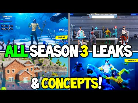 Fortnite Season 3 | ALL Leaks And Concepts!