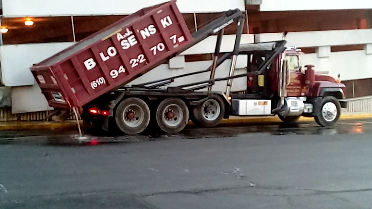 city of wilmington and a roll off container truck youtube