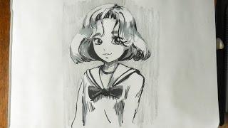 Sketching Manga-Style