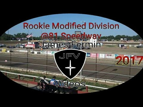 Rookie Modifieds #34, Feature, 81 Speedway, 2017