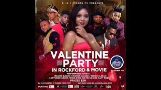 Valentine's Day all Congolese Music Performance in Rockford illinois, ...