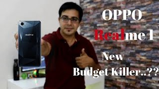 Oppo Realme1 I New Budget Killer ..?? Realmi 1 Vs Redmi Note 5 Pro I Hindi