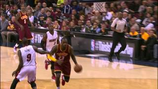 Repeat youtube video LeBron James and Dwyane Wade Duel in Cleveland